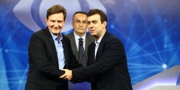 Ibope: Marcelo Crivella tem mais que o dobro das intenções de voto de Marcelo Freixo no