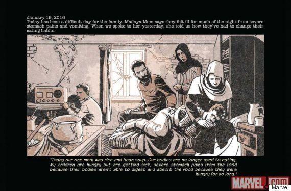 Marvel: Nova super-heroína é uma mãe síria de Madaya, cidade sitiada pela