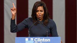 Michelle Obama sobre sexismo de Trump: 'Nenhuma mulher merece ser tratada