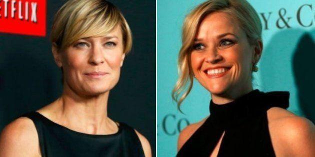 Robin Wright e Reese Witherspoon vão produzir série sobre primeiras-damas dos