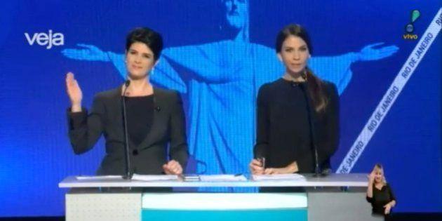 Mariana Godoy responde machismo de Crivella em debate com 'tchau de