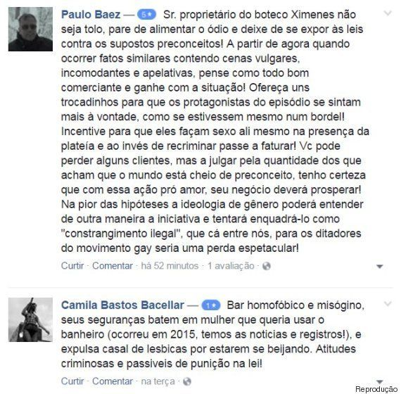 Nenhum beijo a menos: Bar da Lapa, no Rio, vai ter beijaço após gerente discriminar casal de
