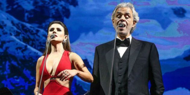 Maria Aleida, soprano do show de Andrea Bocelli, desmente Paula Fernandes: 'Ela não sabia a