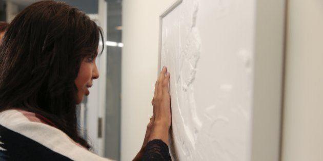 Arte para cego ver: Exposição de imagens no MIS usa técnica da