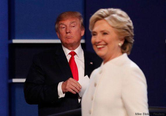 Para 52%, Hillary venceu Trump em debate derradeiro antes da