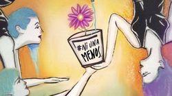 #NiUnaAMenos: Artistas compartilham ilustrações que condenam violência contra