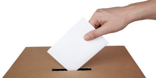 ballot voting vote box politics choice
