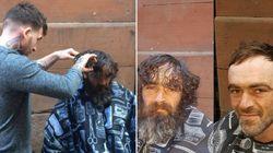 Este barbeiro inglês está dando um novo olhar aos moradores de
