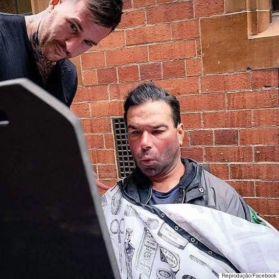 Barbeiro inglês oferece corte gratuito de cabelo para moradores de