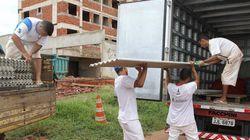 Detentos reconstroem escolas atingidas por tempestade no Distrito