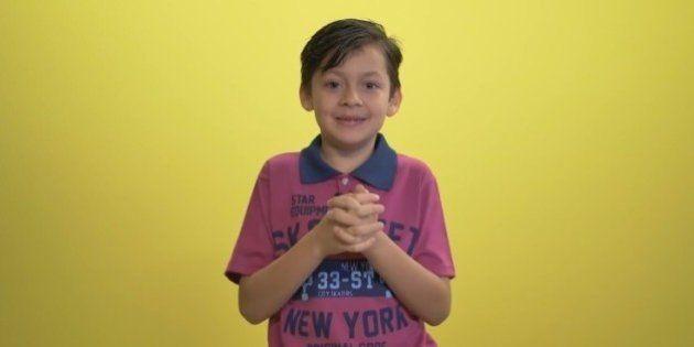 Matteo, de 8 anos, explica para você porque não existem 'coisas de menino' e 'coisas de