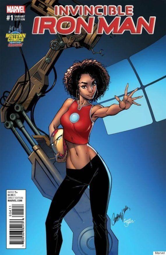 Marvel cancela capa em que heroína de 15 anos, Riri Williams, é