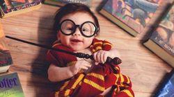 Esta bebê fantasiada de Harry Potter é a coisa mais bonitinha que você vai ver