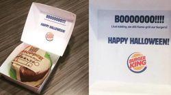 BUUU! Burger King se fantasia de McDonald's para 'assustar' clientes no