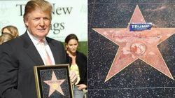 Violência de Trump contra as mulheres teria motivado ataque à estrela na Calçada da