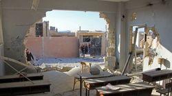 Atrocidade: Bombardeio mata dezenas de crianças em escola da