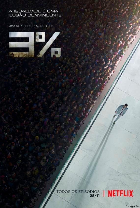 Primeira série brasileira da Netflix, '3%' ganha trailer e pôster