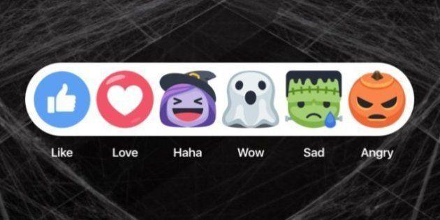 Facebook libera 'reações' especiais para o