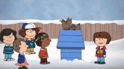 Este encontro entre 'Stranger Things' e a turma do Snoopy é pura fofura (e