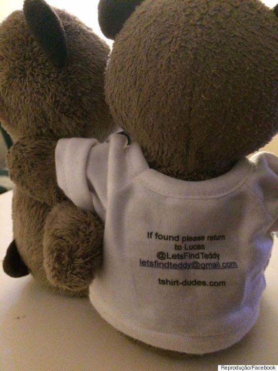 Corrente do bem ajuda menino autista a encontrar seu ursinho de