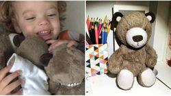 Corrente do bem ajuda menino autista a encontrar o seu ursinho de