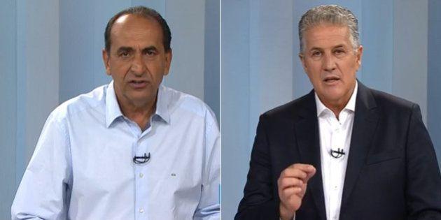 Mais uma noite de ataques no debate em Belo