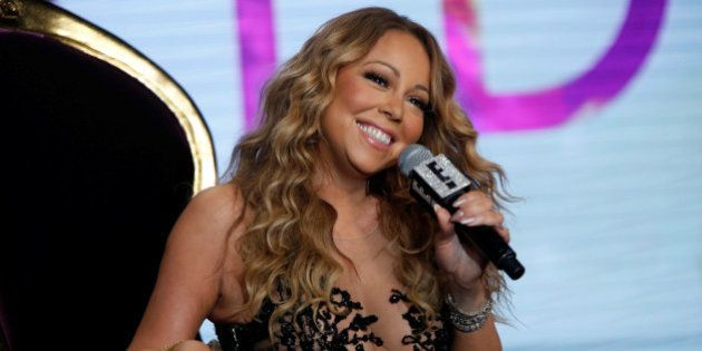 Recording artist Mariah Carey attends a panel for the television