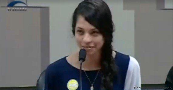 No Senado, Ana Júlia diz que estudantes vão aplicar 'métodos de desobediência civil' em