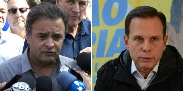 Aécio detona discurso de 'antipolítico', que elegeu Doria e Kalil: 'Nada mais manipulador que negar a