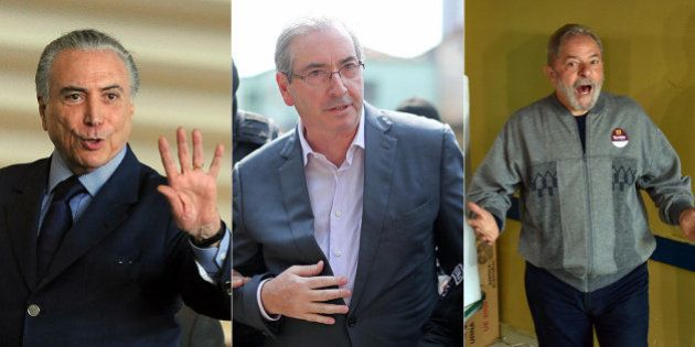 Eduardo Cunha chama Temer e Lula como suas testemunhas de