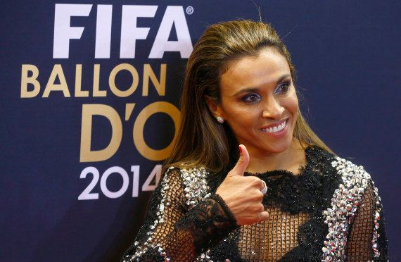 Marta rainha, o resto nadinha... Camisa 10 da Seleção disputa pela 13ª vez o prêmio de melhor do