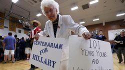Ela nasceu antes que as mulheres dos EUA pudessem votar. E acaba de votar em