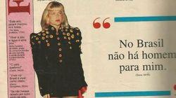 Esta é a prova histórica de que as celebridades brasileiras são uma espécie