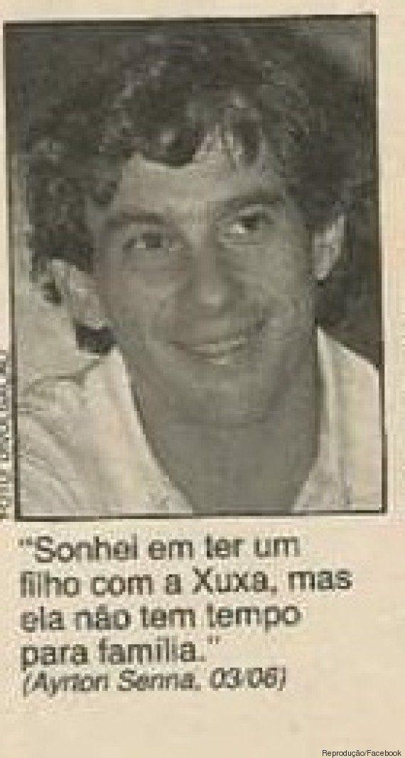 Esta página da Contigo! dos anos 90 é a prova de que as celebridades brasileiras são uma espécie