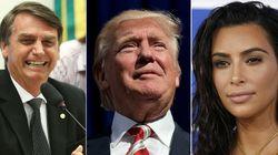 O que Bolsonaro, Donald Trump e Kim Kardashian têm em