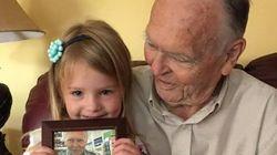 Como uma menina de 4 anos revolucionou a vida de um idoso triste pela perda da