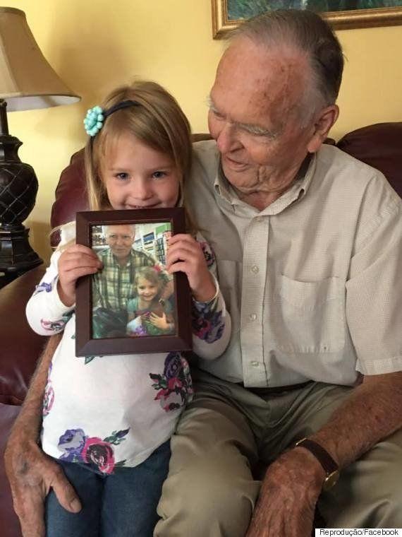 A linda amizade entre uma garotinha de 4 anos e um idoso triste pela perda da