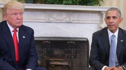 'Se Trump tiver sucesso, o país vai ter sucesso', diz Obama em encontro com
