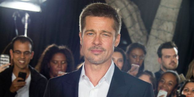 Actor Brad Pitt attends The 'Allied' Fan Event Presented by Paramount Pictures, in Westwood, California,...