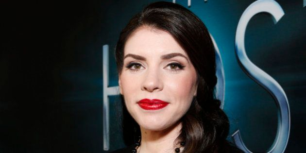 FILE - In this Tuesday, March 19, 2013, file photo, author Stephenie Meyer arrives at the LA premiere