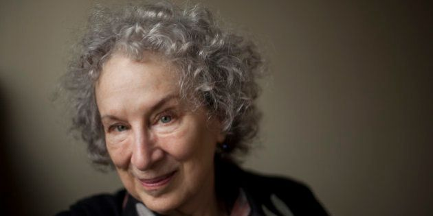 TORONTO, ON - JULY 15: Author Margaret Atwood during an interview at Random House in Toronto, July 15,...