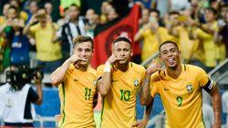 Nem me viu! Brasil dá aula na Argentina e deixa o 7 a 1 para trás no