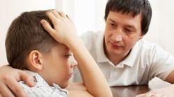 Por que é tão importante que os pais parem com o 'não chore, seja