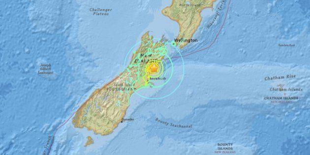Terremoto de magnitude 7,8 atinge a Nova Zelândia e gera alerta de