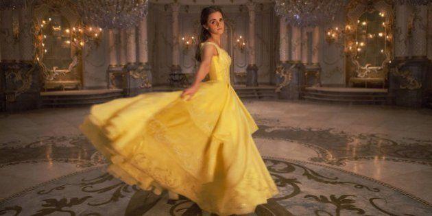 O clássico vestido amarelo de Bela deu dor de cabeça em Emma