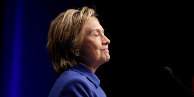 Hillary Clinton speaks to the Children's Defense Fund in Washington, U.S., November 16, 2016. REUTERS/Joshua