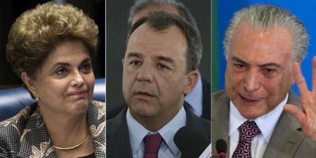 Amigos Nunca Mais: Dilma e Temer negam aliança com Sérgio