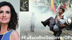 Campanha #EuEscolhoSalvaroPolicial lança pergunta para Fátima