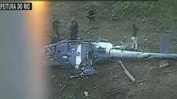 Quatro PMs morrem em queda de helicóptero na região da Cidade de