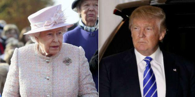 Rainha Elizabeth irá convidar Donald Trump para visita de